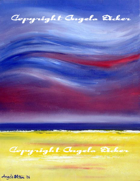 Paint 2 Relax. Paint to Relax. Angela Dicker artworks.