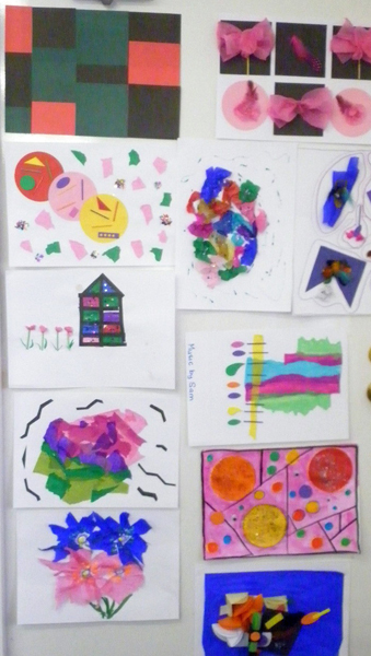 Alzheimer's Australia WA Ltd Training Session - 31st Mar 2014 - Working with Colours and Shapes